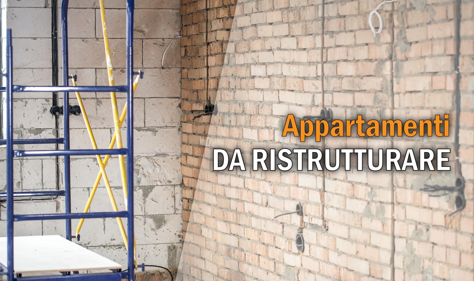 Selezione Appartamenti da Ristrutturare a Roma